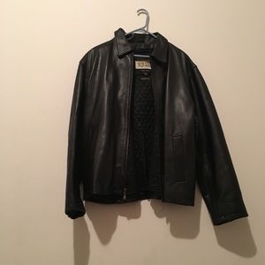 Wilson Men's Leather Jacket fully lined